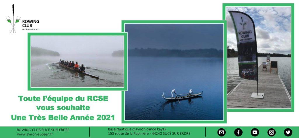Très Belle Année 2021 sur l'eau